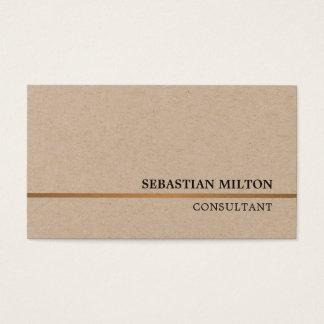 De minimale Elegante Adviseur van de Lijn van Visitekaartjes