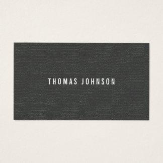 De minimalistische Elegante Witte Grijze Adviseur Visitekaartjes