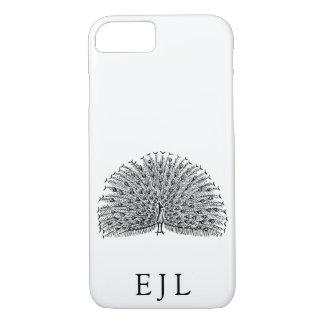 De minimalistische Initialen van de Douane van de iPhone 8/7 Hoesje