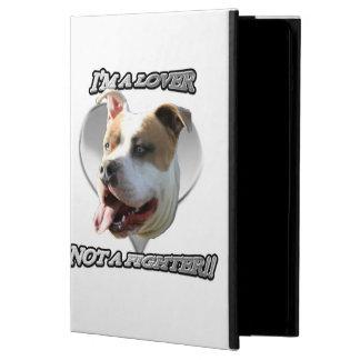 De minnaar pitbull hond van I'ma iPad Air Hoesje