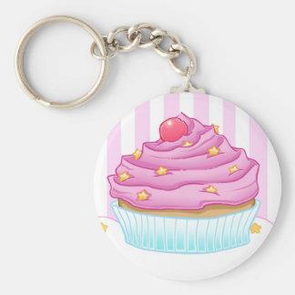 De Minnaar van Cupcake Sleutel Hanger