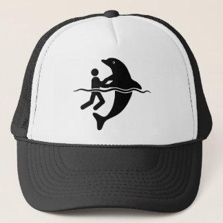 De Minnaar van de dolfijn Trucker Pet