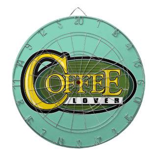 De Minnaar van de koffie Dartbord
