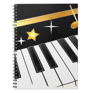 De Minnaar van de piano Notitie Boeken