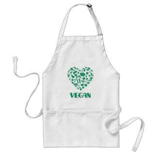 De Minnaar van de veganist Standaard Schort