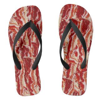 De Minnaar van het bacon Teenslippers