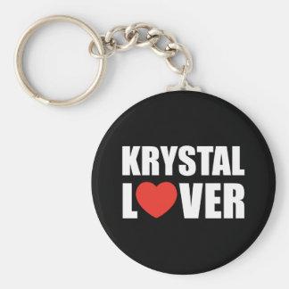 De Minnaar van Krystal Sleutelhanger