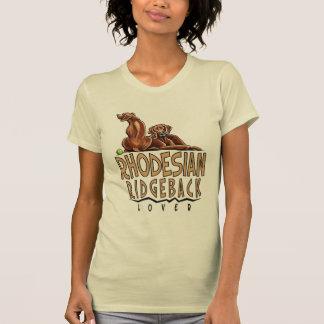 De Minnaar van Ridgeback van Rhodesian T Shirt