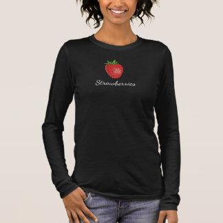 De minnaars van aardbeien verrukken - de bovenkant t shirts
