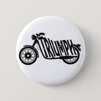 De minnaars van de fiets ronde button 5,7 cm
