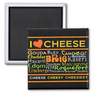 De Minnaars van de kaas Magneet
