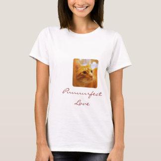 De Minnaars van de Kat van de gestreepte kat T Shirt