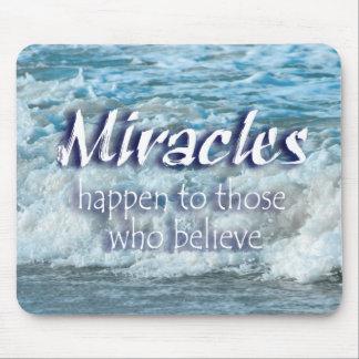 De mirakelen gebeuren muismat