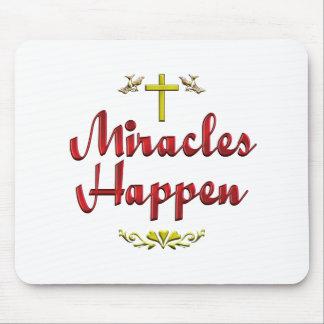 De mirakelen gebeuren muismatten