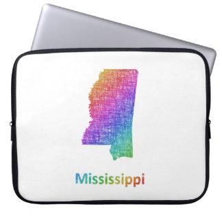 De Mississippi Computer Sleeve Hoezen