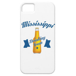 De Mississippi die team drink Barely There iPhone 5 Hoesje