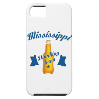 De Mississippi die team drink Tough iPhone 5 Hoesje
