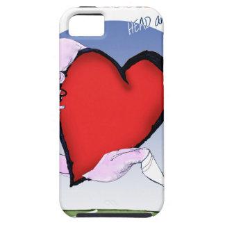 de Mississippi hoofdhart, tony fernandes Tough iPhone 5 Hoesje