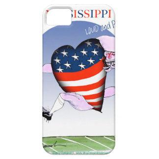 de Mississippi luide en trotse, tony fernandes Barely There iPhone 5 Hoesje