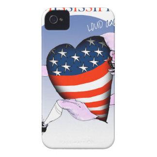 de Mississippi luide en trotse, tony fernandes iPhone 4 Hoesje