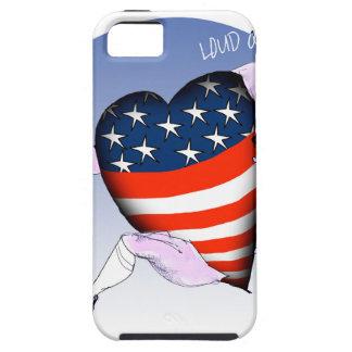 de Mississippi luide en trotse, tony fernandes Tough iPhone 5 Hoesje