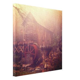 De Mist van de ochtend Canvas Afdrukken