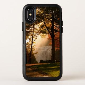 De Mist van de Waterval van de herfst OtterBox Symmetry iPhone X Hoesje