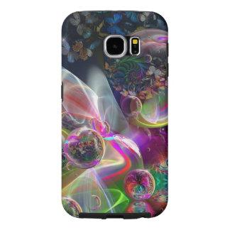 De mobiele Telefoon behandelt:  Abstracte Bellen Samsung Galaxy S6 Hoesje
