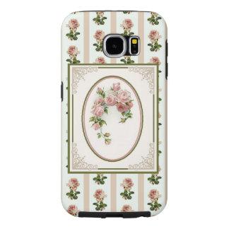De mobiele Telefoon behandelt: Victoria Samsung Galaxy S6 Hoesje