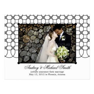 De moderne Aankondiging van het Huwelijk van Briefkaart