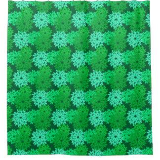 De moderne Bloemen de Groene Druk, Smaragd en de Gordijn 0