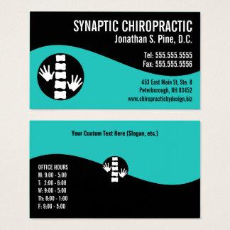 De moderne Chiropracticus van het Spreekuur van de Visitekaartjes
