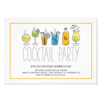 De moderne Cocktail party van de Pret Kaart