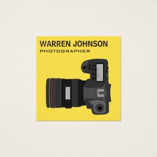 De moderne Code van de Fotograaf QR Vierkante Visitekaartjes