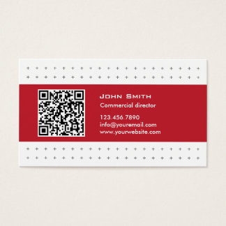 De moderne Commerciële Directeur Visitekaartje van Visitekaartjes