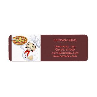 De moderne diner dienst van het de winkelvoedsel etiket