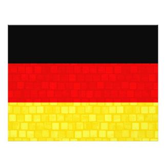 De moderne Duitse Vlag van het Patroon Persoonlijke Folder