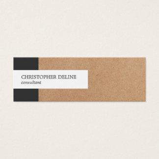 De moderne Elegante Adviseur van het Document van Mini Visitekaartjes