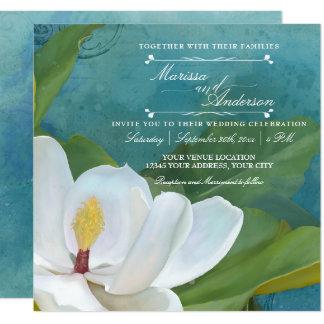 De moderne Elegante Romantische BloemenTypografie Kaart