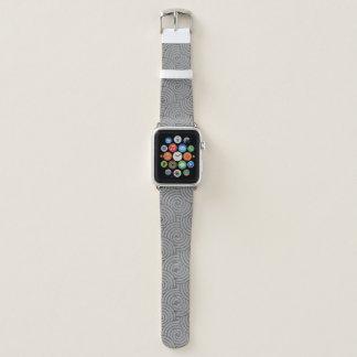 De moderne Grijze Band van het Horloge van Apple