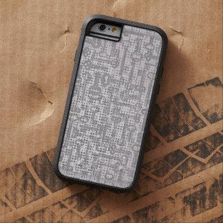 De moderne Illustratie van de Lavendel van Paarse Tough Xtreme iPhone 6 Case