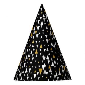 De Moderne Kunst van de driehoek - Zwart Goud Feesthoedjes
