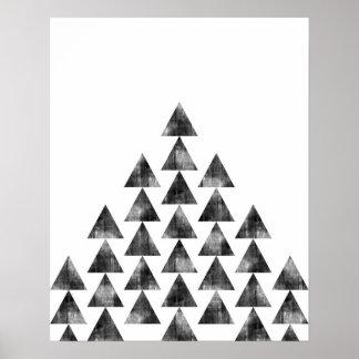 De moderne minimalistische geometrische druk van poster