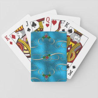 De moderne & Modieuze Wervelingen van Kerstmis Pokerkaarten