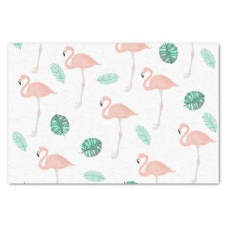 De moderne roze waterverf van het flamingo 25,4 x 38,1 cm zijdepapier