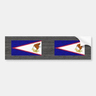 De moderne Samoan Vlag van het Patroon Bumpersticker