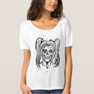 De moderne T-shirt van de Vrouwen van de Schedel
