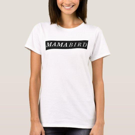 De moderne T-shirt van het Mamma (de Vogel van