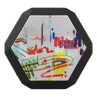 De moderne Tegels van de Straat - Lissabon Zwarte Bluetooth Speaker