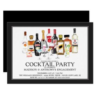 De moderne Uitnodiging van de Cocktail party van